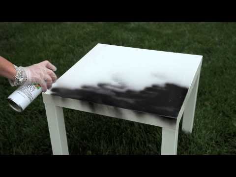 How to Do Crackle Paint Over an Existing Lacquer Finish : An Elegant Home