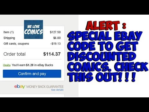 ALERT: Ebay discount code many may not know about.... (No longer valid)