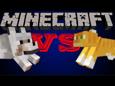 Cats VS Dogs - Minecraft