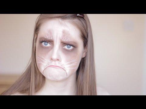 Grumpy Cat Makeup Tutorial | Callie