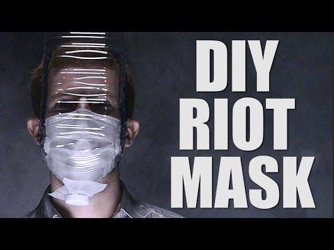 DIY RIOT MASK