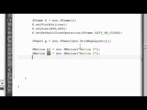 Java Tutorial 12: Arranging Component on Frame / Panel in Java
