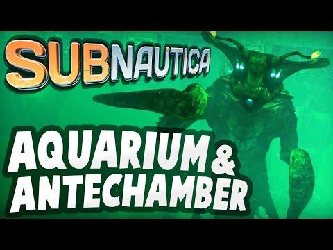 Subnautica - INSIDE AQUARIUM & ANTECHAMBER: Primary Containment