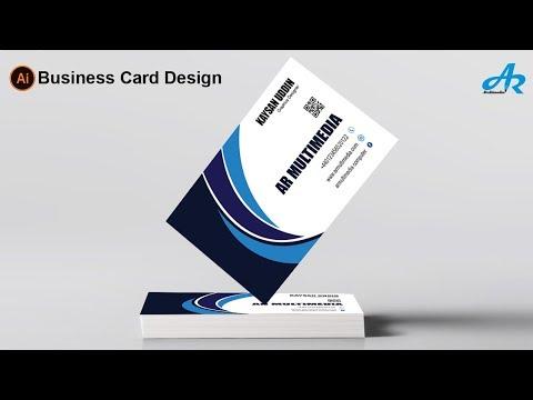Creative Business Card Design in Illustrator cc 2018|Modern Business Card Design in Illustrator cc