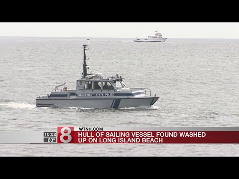 Coast Guard searching for 2 people possibly in water after boat hull found on Long Island