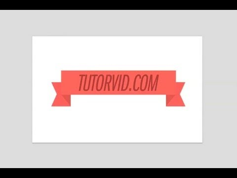 Photoshop Tutorial - How To Create a Simple Web Banner