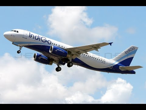 Indigo Flight  Takes Off From Delhi To Bengaluru