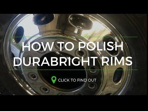 how to polish aluminum durabright rims