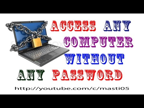 Access any computer without password with Hiren's boot CD 15.2 uses of live CD (Hindi)