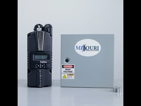 Missouri Wind and Solar Voltage Reducer for the MidNite Classic