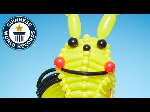 Largest Balloon Costume: Pikachu - Meet The Record Breakers