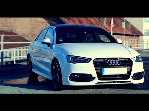 Audi A3 S Line Limo - white virgin