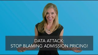 Stop Blaming Admission Pricing (DATA)