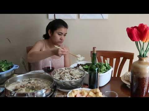 ទទួលទានស៊ុបឆ្នាំងភ្លើង។ Homemade Hot Pot Soup by Khmer Funan