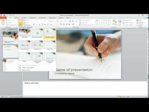 How to separate your PowerPoint slides into sections