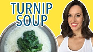 Turnip Soup Cooking Demo How To Make Vegetable Soup How To Cook Turni