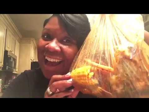 SEAFOOD MUKBANG with Boiling Crab Whole Shabang Seasoning