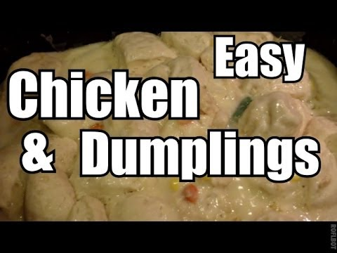 Easy Chicken and Dumplings Recipe Stove or Ninja Cooking System