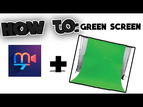 How to use: Green Screen || (IOS App Tutorial)