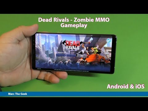 Dead Rivals - Zombie MMO Gameplay