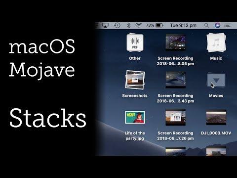 Stacks for macOS Mojave