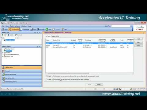 How to Set up a Cisco ASA DMZ:  Cisco ASA Training 101
