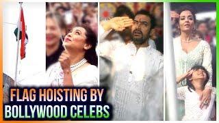 Indian Flag Hoisting | Aishwarya Rai, Rani Mukerji, Aamir Khan, Vidya Balan Hoist The Flag