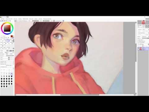Speedpaint (Paint Tool SAI) Coloring