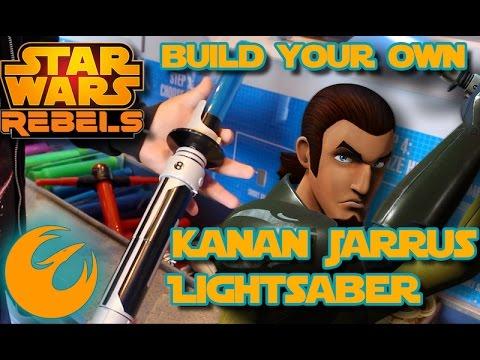 Star Wars | Build your own Kanan Jarrus Lightsaber toy at Disneyland