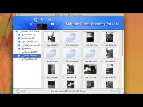 How to Recover Deleted Files for iPhone from iTunes Backup?