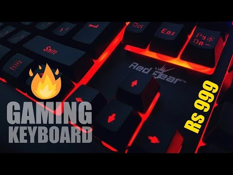 Budget Gaming Keyboard 2018 | Redgear Blaze 3 Review