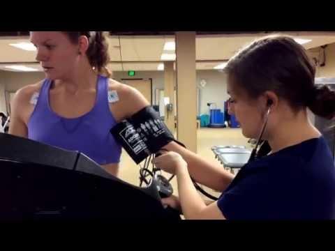 Bp during submax treadmill testing