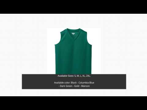 AUGUSTA 525 LADIES WICKING MESH SLEEVELESS BASKETBALL JERSEY  Free Design Templates