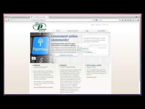 First Premier Bank Second Video   MYBILLCOM.COM