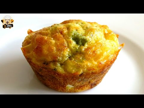 GLUTEN FREE & LOW CARB BROCCOLI EGG MUFFINS