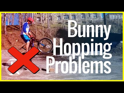 Learning how to Bunny Hop a MTB Problems & Mistakes | Skills With Phil