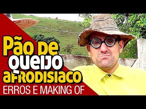 PÃO DE QUEIJO AFRODISÍACO - MAKING OF - PARAFUSO SOLTO