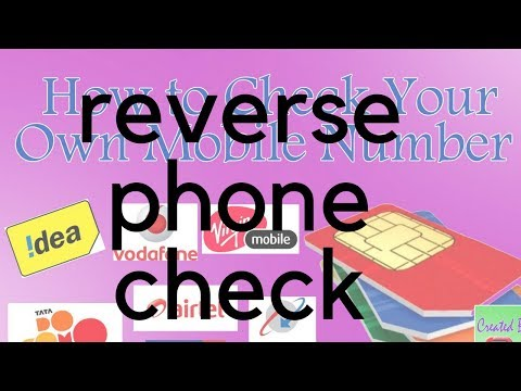 reverse phone check-Landline and Cell Number Search