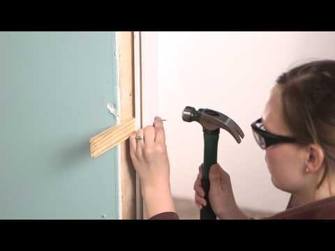Installing an Interior Single Door with Split Jamb