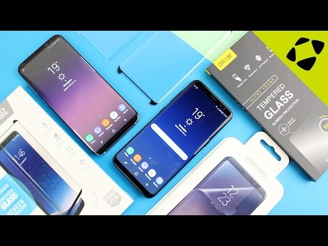 Top 3 Samsung Galaxy S8 / S8 Plus Screen Protectors