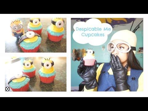 DIY Despicable Me Minion Cupcakes!