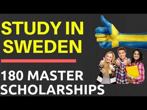 Study in Sweden Scholarship