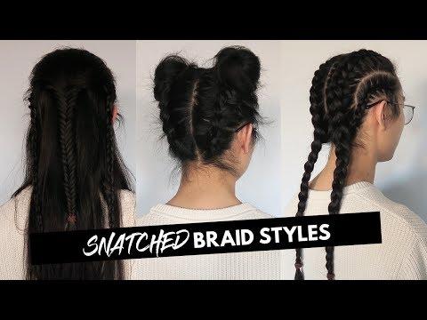 Space Buns - Boxer - Legolas | Braid Styles | Men Long Hairstyles