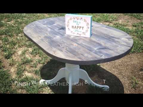DIY Driftwood Dining Table