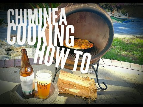 Chiminea Cooking How To