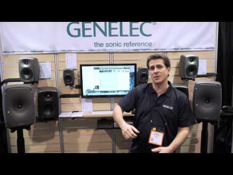2016 NAMM Show - Genelec Speakers