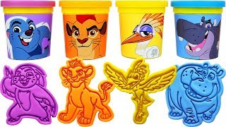 Play-Doh Lion Guard Molds & bunga, kion, ono, beshte