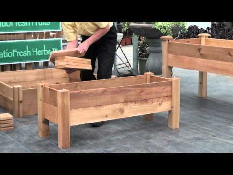 How to build a simple elevated garden bed with Louis Damm