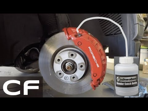 How to Change your Brake Fluid - Easy DIY Tutorial on my Porsche 911