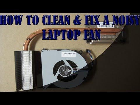 How to Clean & Fix a Noisy Laptop Fan